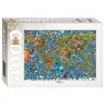 Step-Puzzle-85407 Carte du Monde