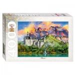 Step-Puzzle-85408 Château de Neuschwanstein, Allemagne