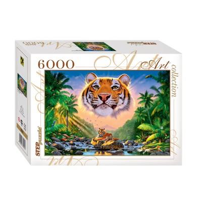 Step-Puzzle-85501 Tigre Magnifique