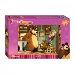 Step-Puzzle-96020 Masha and the Bear