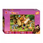 Step-Puzzle-97018 Masha and the Bear