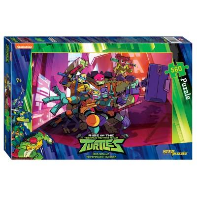 Step-Puzzle-97070 Ninja Turtles