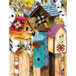 Sunsout-12554 Ashley Davis - Fall Birdhouses