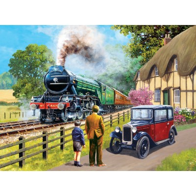 Sunsout-13713 Kevin Walsh - The Flying Scotsman