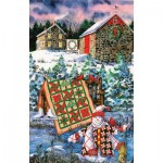Sunsout-14634 Diane Phalen - A Christmas Cheer Quilt