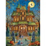 Sunsout-15515 Randal Spangler - The Trick or Treat House