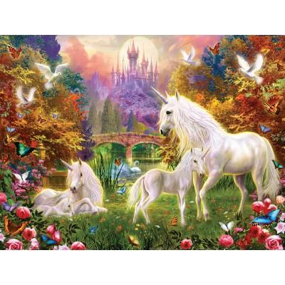 Sunsout-15960 Pièces XXL - Castle Unicorns