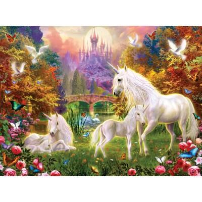 Sunsout-15963 Jan Patrik Krasny - Castle Unicorns