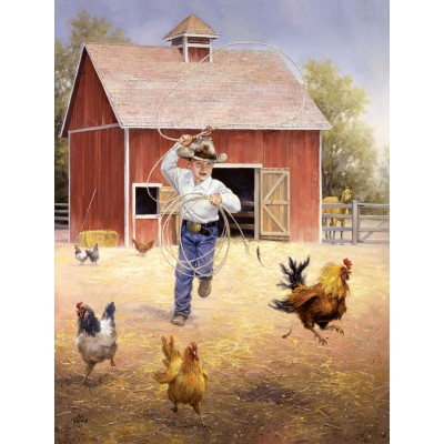 Sunsout-16887 Pièces XXL - Fowl Play