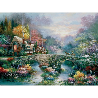 Sunsout-18040 James Lee - Peaceful Cottage