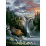 Sunsout-18091 James Lee - Misty Falls