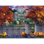 Sunsout-19227 Nicky Boehme - Halloween House