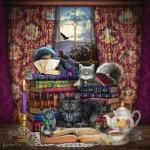 Sunsout-20114 Brigid Ashwood - Storytime Cats