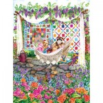 Sunsout-20219 Wendy Edelson - Garden Hammock