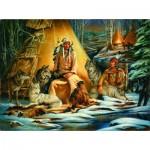 Sunsout-21834 Russ Docken - Mystical Meeting