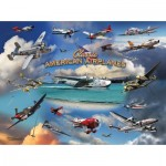 Sunsout-24526 Larry Grossman - Classic American Planes