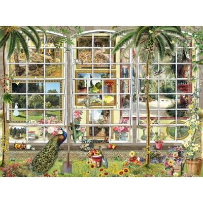 Sunsout-27250 Barbara Behr - Gardens in Art