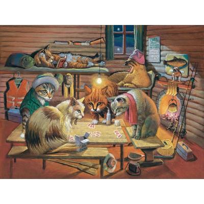 Sunsout-28005 Bryan Moon - Cats Playing Poker
