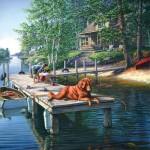 Sunsout-28451 James A. Meger - Summer Vacation