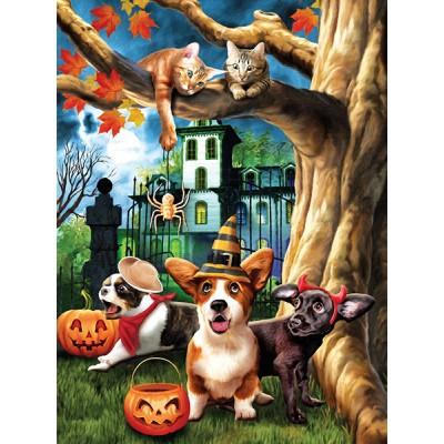Sunsout-28713 Tom Wood - Halloween Hijinks