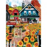 Sunsout-28776 Tom Wood - At the Sunflower Inn