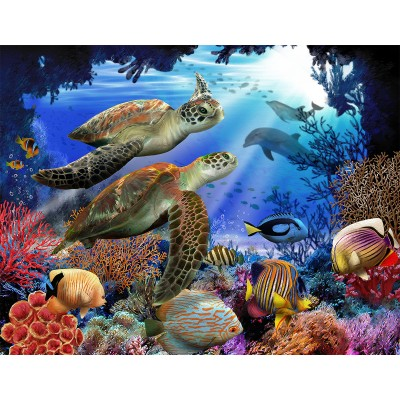 Sunsout-28804 Pièces XXL - Underwater Fantasy