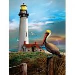 Sunsout-28847 Pièces XXL - Pigeon Point Lighthouse