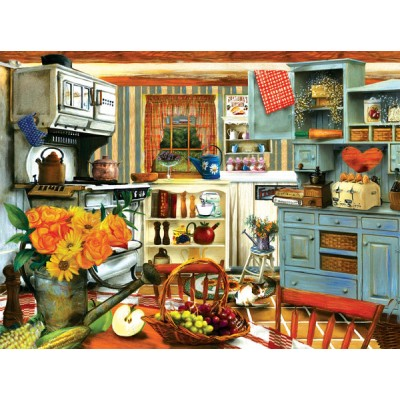 Sunsout-28851 Tom Wood - Grandma's Country Kitchen
