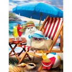 Sunsout-28865 Pièces XXL - Beach Cats