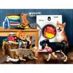 Sunsout-28930 Pièces XXL - Laundry Room Laughs