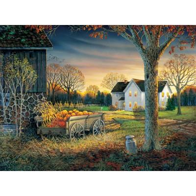 Sunsout-29046 Sam Timm - Pumpkin Harvest