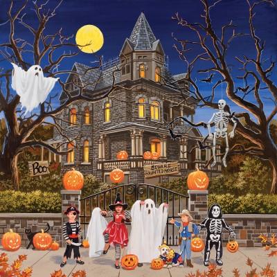 Sunsout-30425 William Vanderdasson - Beware Haunted House