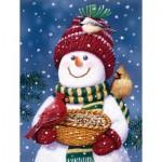 Sunsout-30466 Pièces XXL - Snowman Bird Feeder
