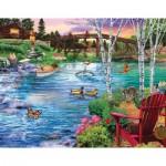 Sunsout-31481 Bridge Fishing