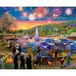 Sunsout-31546 Pièces XXL - Summer Fireworks