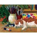 Sunsout-31613 Linda Elliot - Painter's Helper