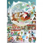 Sunsout-32210 Pièces XXL - Legacy Tree - A Christmas Village for All Ages