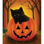 Sunsout-32724 Pièces XXL - Halloween Kitten