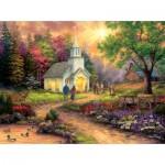 Sunsout-33709 Pièces XXL - Chuck Pinson - Country Church