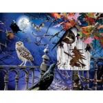 Sunsout-35010 Pièces XXL - Halloween Birdhouse