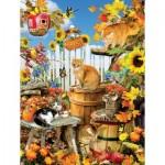Sunsout-35143 Pièces XXL - Lori Schory - Harvest Kittens