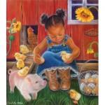 Sunsout-35808 Pièces XXL - Barn Babies