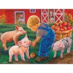 Sunsout-35875 Pièces XXL - Little Farm Boy