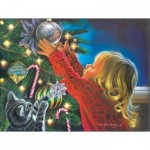 Sunsout-35904 Pièces XXL - Santa's Midnight Helper