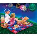 Sunsout-35918 Pièces XXL - Fireworks Finale