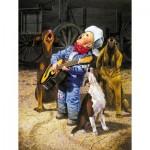 Sunsout-36059 Pièces XXL - Singing Cowboy