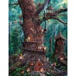 Sunsout-36510 Pièces XXL - Jeff Tift - Forest Gnomes