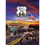 Sunsout-37122 Greg Giordano - Route 66 Diner