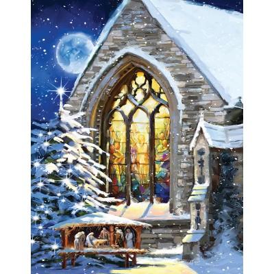 Sunsout-37346 Pièces XXL - The Macneil Studio - Christmas Manger