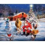 Sunsout-37992 R.J. McDonald - A Stop at the Farm